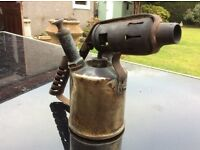 Vintage paraffin blow torch