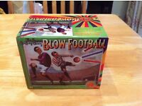 The Super Spiffing Game of Blow Football, by House of Marbles