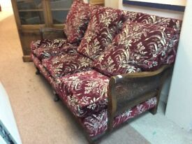 Bergere Sofa / very small 3 Seater