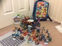 Xbox 360 -Lego dimensions and sky landers games and accesories