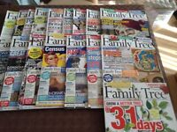 FAMILY TREE magazine collection various years and months Birth records CD with each edition