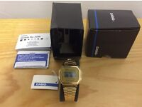 Casio A168WG-9EF Gold Watch New with Tags