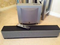 Excellent condition Yamaha soundbar and sub selling due to purchase of Sonos system