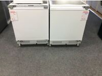 Integrated fridge new/graded 12 moths gtee £135