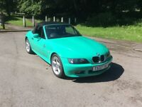 BMW Z3 FiIJI GREEN SPECIAL EDITION