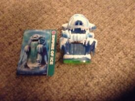 Skylanders Special Edition characters. Empire of Ice & Dragonfire Cannon with cads