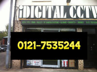 cctv camera hq systm installation supplied and fitting ahd day night vision