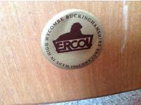 Original ERCOL Windsor carver chairs .Blonde