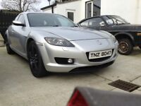 Mazda rx8 231 with rebuilt engine