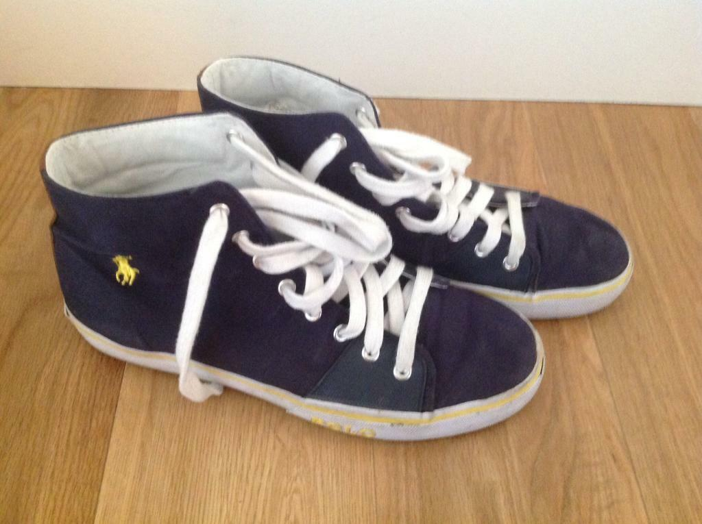 625aeeeb3b6549 Men s canvas shoes - size 9 (43) - Ralph Lauren Polo  Fred Perry  Converse