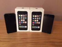 iPhone 5S 16 GB X 2 phonesx £90 each