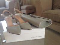 Roland Cartier shoes and clutch bag