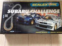 Scalextric - Subaru Challenge set