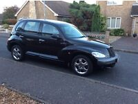 Black Chrysler PT Cruiser 2.0 Automatic Limited Edition 2001