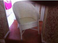 Lloyd Loom Type Chair.