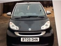 Smartcar Cabriolet 2009 .Passion convertible under 54000 miles. Full service History. 9 moths MOT.