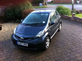 Toyota AYGO+ 1.0 3dr Manual GREY NEW MOT, FSH, 21K Miles, £20 Tax, 1 Careful Owner, A+ condition