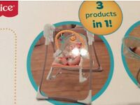 Fisher Price 3-in-1 swing