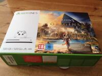 Xbox One S 500 GB Console, 1 Controller, Box, All Leads, excellent condition like new