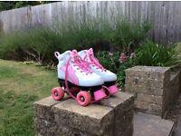 RIo white and roller skates