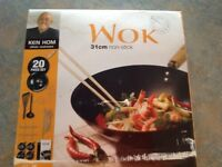 ken Hom wok, new in box