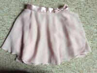 Sainsbury's ballet wrap cardigan and wrap skirt