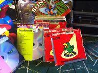 """karaoke discs 12"""" original laser discs. pioneer ,sunfly eyc"""