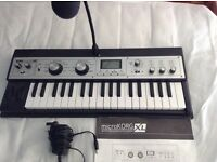 Korg Microkorg XL Synthesizer £180 Excellent Condition
