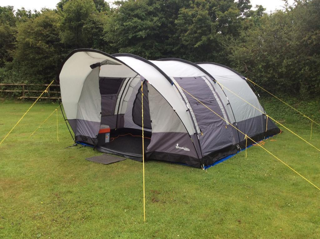 ISABELLA COLUMBUS 4 BERTH TUNNEL TENT Easy To Pitch