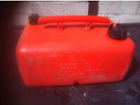 25 liters ouicksilves plastic boat container