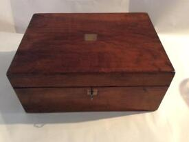Victorian writing box