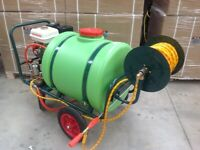 Softwash and Hypochlorite application machine for Cleaning roofs etc