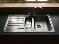 Blanco kitchen sink and tap