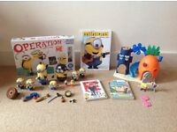 Despicable me, Sponge Bob squarepants Bundle