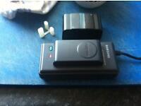 Samsung video camera case triod and bstteries