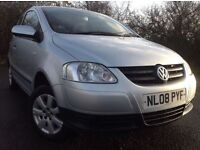 2008 VOLKSWAGEN FOX 1.4 URBAN - 12 MONTHS MOT, 83K MILES, GREAT CAR, GREAT VALUE FOR MONEY!!.