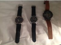 Mens watches x3