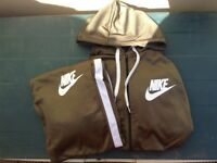 NIKE POLY FULL TRACKSUIT / BLACK / BLUE / KHAKI / ALL SIZES ***BRAND NEW WITH TAGS***