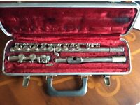 Selmer flute bundy with case