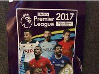 Premier league 2017 stickers for swap