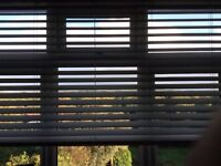 Bright White Wooden Blinds