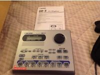 BOSS DR-3 Dr Rhythm DRUM MACHINE FOR SALE: Great sounding drum machine in excellent condition.