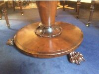 Beautiful round 6 seater table