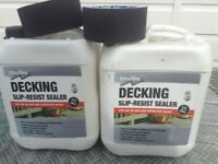 2xultra rhino grip decking tape& 2 X clean seal decking sealant as new