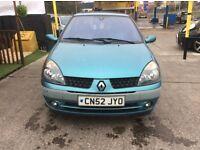 Renault Clio 1.2 extrem mot cheap part ex