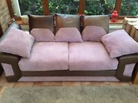3 and 2 seater sofa's - sold together or separately