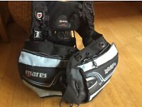 MARES Hybrid She dives travel, BCD LARGE