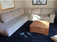 Large corner sofa /suite/settee