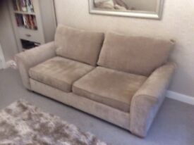Next 3 Seater sofa. Removable covers. Excellent clean condition from non smoking pet free home.