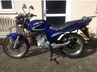 Kymco pulsar 125 motorcycle
